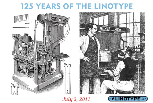125th Anniversary of Linotype